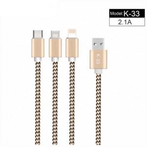 USB Кабель K-33